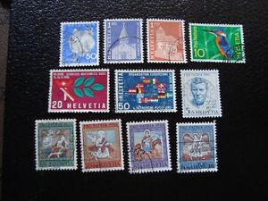 Switzerland-Stamp-Yvert-and-Tellier-N-763-A-773-Obl-A2-Stamp-Switzerland-Z
