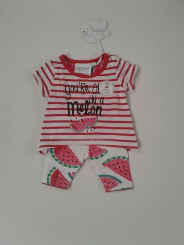 Prématuré Preemie Tiny Baby Girls vêtements Haut Et LEGGINGS Set up to 5-7 LB