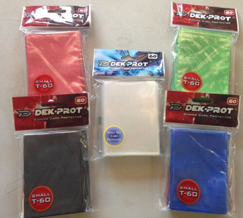 720(12 Packs) Any Color Yu-Gi-Oh / CardFight Vanguard Dek.Prot Card Sleeves