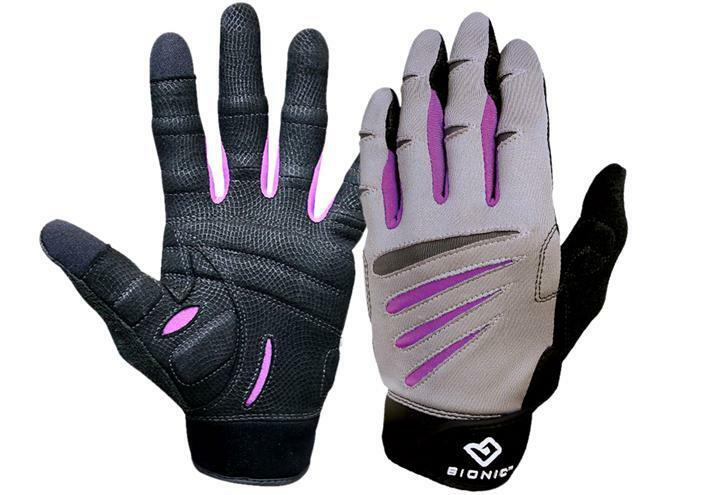 NEW - Bionic Donna Cross Fit Training Gloves Full Finger. Comfort - Durability
