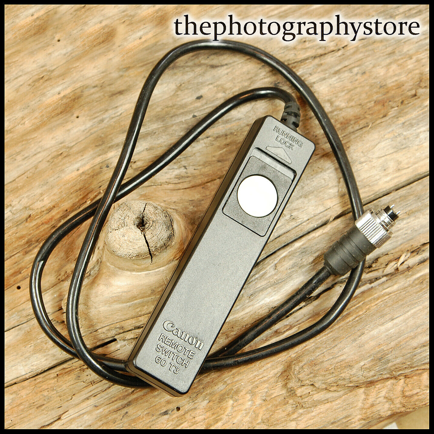 Genuine Canon 60 T3 Wired Remote Release for EOS 620 650 Film SLRs FREE UK POST