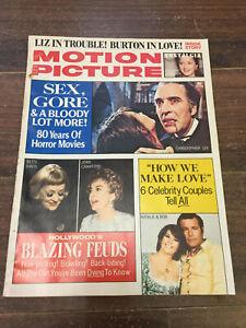 Vintage-Motion-Picture-Magazine-January-1975-Horror-Movies-Elizabeth-Taylor