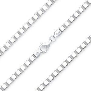 4mm-Classic-Box-Link-Italian-Chain-Bracelet-in-Solid-925-Italy-Sterling-Silver