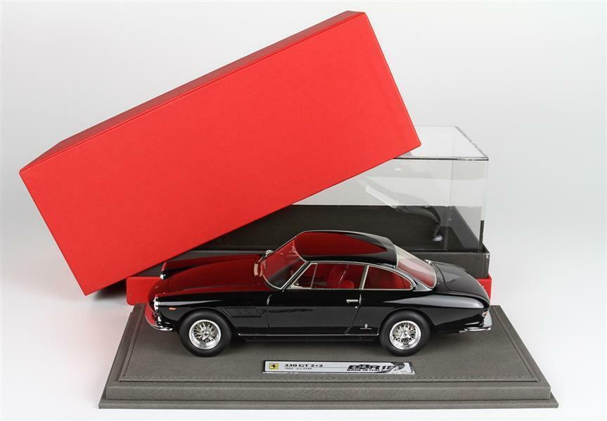 Ferrari 330 GT 2+2 S N 5349 1963 noir avec vitrine 1 18 - bbr1832bv BBR