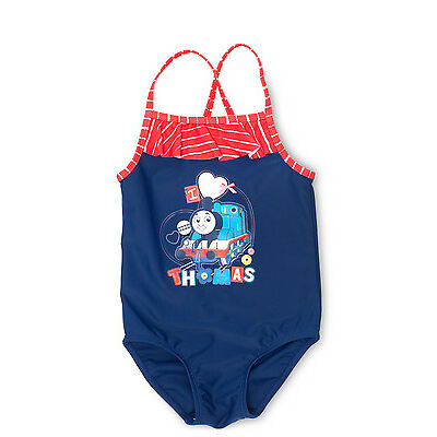NEW Thomas & Friends Frill Swimsuit Navy
