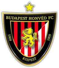 "Budapest Honved FC Hungary Football Soccer Car Bumper Sticker Decal 4""X5"""