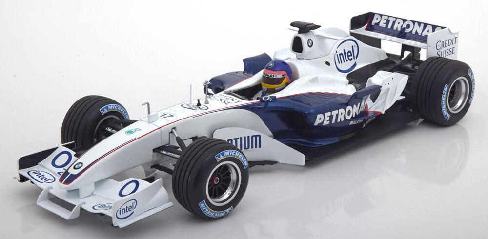 Minichamps Sauber BMW C24B F1 Villeneuve Test Valencia 2006 2006 2006 1/18 Nouveau | Pour Votre Sélection  077406