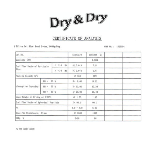 "10 Gram/"" Dry /& Dry/"" Premium Blue Indicating Silica Gel Packets Reusable 60 Pk"