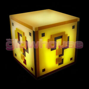 Image Is Loading Super Mario Bros Question Block Mood Light Official