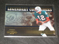 BOB BRIESE DOLPHINS LEGEND GENUINE AUTHENTIC LIMITED ED. FOOTBALL CARD /2000