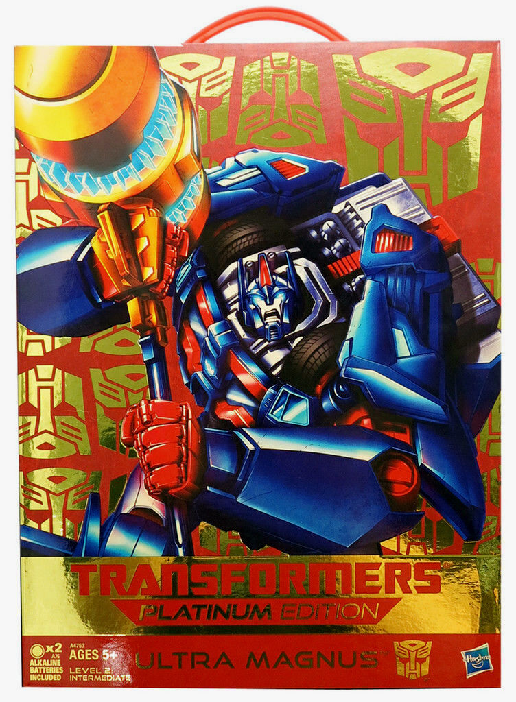 (Fast) Transformers Platinum Year of the Snake Ultra Magnus Figure Brand New