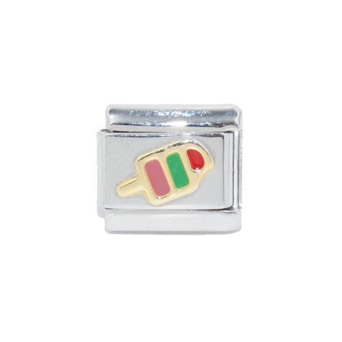 Ice lolly Italian Charm fits 9mm Zoppini Italian charm bracelets