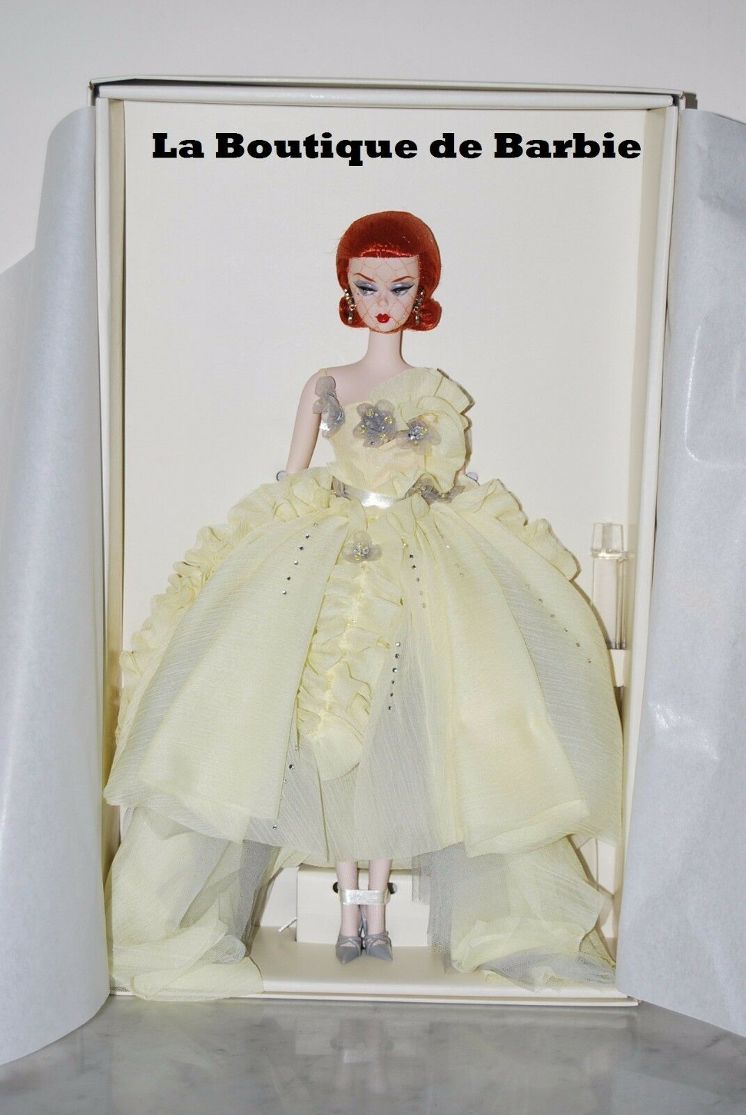 GALA GOWN BARBIE® DOLL, BARBIE® FASHION MODEL COLLECTION, W3496, 2012, NRFB