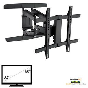 Porta Tv Lcd Da Muro.Staffa Support Porta Tv A Muro A Parete Lcd Plasma 32 40 42 46 47