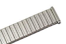 Speidel 15-21mm Silver Stainless Steel Twist O Flex Expansion Watch Band Strap