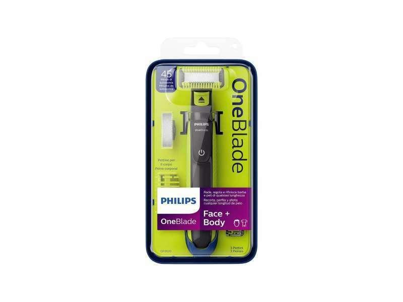 PHILIPS Oneblade Face Body QP262020 Rasierer Körperrasierer Trimmer 2in1 NEU