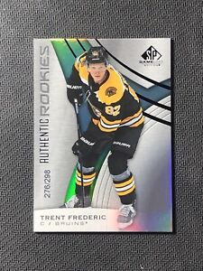 2019-20-SP-GAME-USED-TRENT-FREDERIC-AUTHENTIC-ROOKIE-RAINBOW-FOIL-ed-276-298