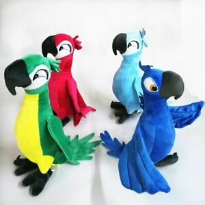 Rio-Movie-Plush-Toy-Parrot-Bird-Soft-Stuffed-Animal-Figure-Doll-Christmas-Gift