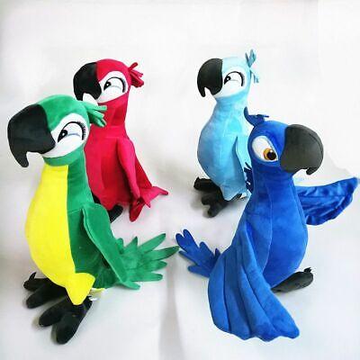 30cm Rio Movie Plush Toy Parrot Bird Stuffed Animal Doll Soft for Kid Xmas Gift