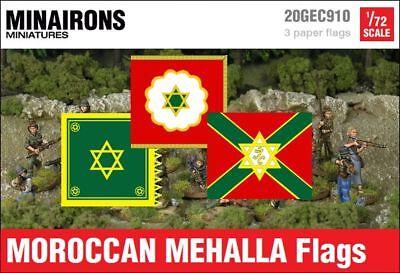 Minairons 1:72 Moroccan Mehalla flags 20mm Spanish Civil War
