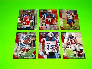6-MONTREAL-ALOUETTES-UPPER-DECK-CFL-FOOTBALL-CARDS-48-50-51-52-64-90-5