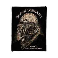BLACK SABBATH PATCH Never say I/US Tour'78 ricamate ♫ Heavy Metal rock ♪ ♫