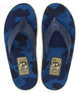 73dae77b91e A BATHING APE COLOR CAMO ISLAND SLIPPER 3 colors BAPE Sandals ...