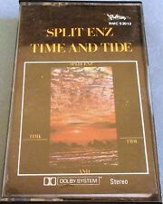 Split Enz Time and Tide Cassette Made in Australia RMC 53012