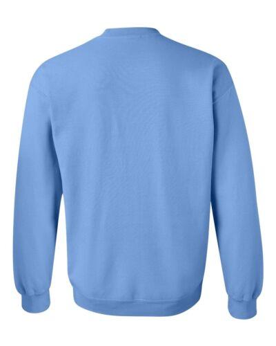 GILDAN Mens Size S M L XL Pullover Heavy Blend Crewneck Sweatshirt Jumper g18000