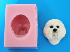 chocolat etc. 3D Yorkshire Terrier Moule en silicone pour gâteau Toppers argile