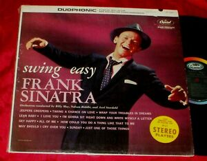 FRANK SINATRA Swing Easy LP ORIGINAL CAPITOL STEREO IN SHRINK EXCELLENT!!