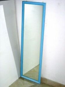 Specchiera a parete specchio a muro per ingresso cameretta negozi colore celeste ebay - Parete a specchio per ingresso ...