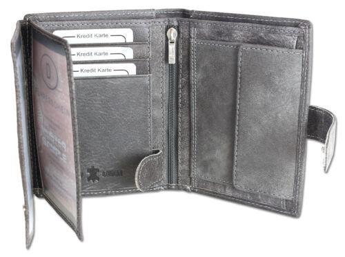 CUIR VERITABLE Messieurs Porte-monnaie et Loquet Porte-Monnaie Portefeuille Portefeuille Wallet