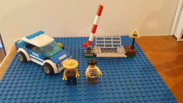Lego City 4436 Police Patrol MatéRiaux De Haute Qualité