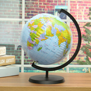 Inflatable Globe World Map. Image is loading INFLATABLE 30CM GLOBE ATLAS WORLD MAP EARTH BLOW  UP BALL TOY