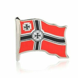 WW2-WW1-German-Empire-flag-Pin-Cross-Enamel-Badge-Brooches