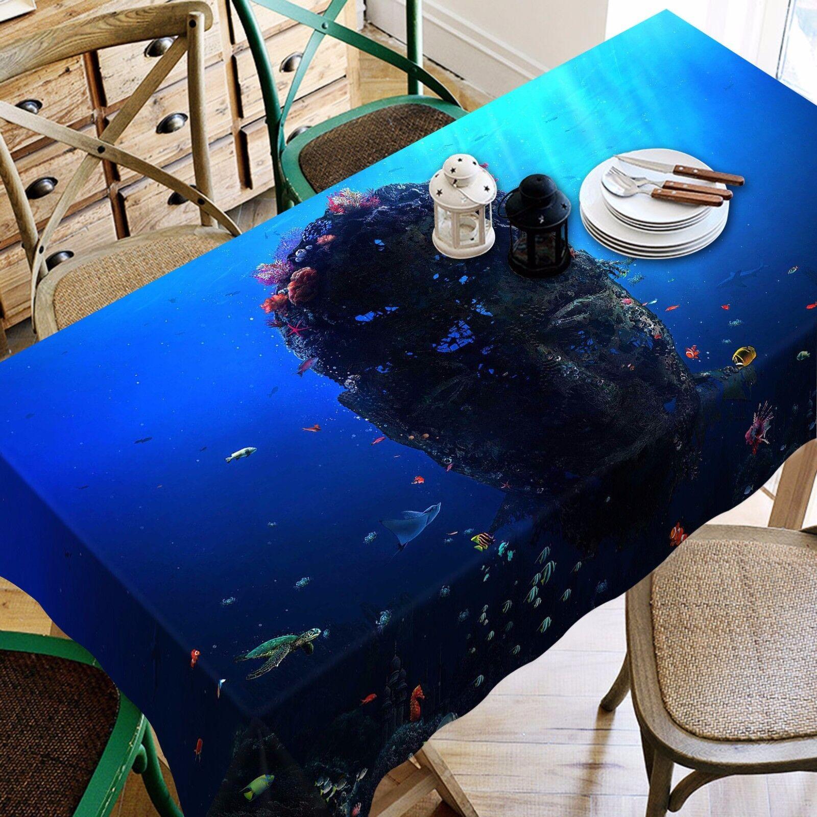 3D Marine 880 Nappe Table Cover Cloth Fête D'Anniversaire événement AJ papier peint UK