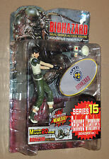 Resident Evil Rebecca Chambers Figure Moby Dick Series 15 w Nemesis Type 3 Part