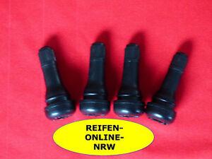 4x-Gummiventile-TR413-Snap-in-Kurz-Reifenventile-Autoventile-Motorradventile