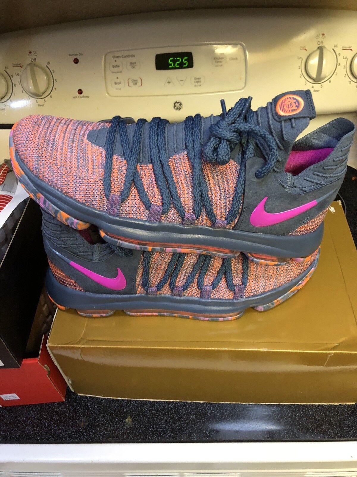 Nike Zoom KD10 KD10 KD10 LMTD AS All-Star Ocean Fog Fuchsia 897817-400 Size 11 Jordan 1 Xi 462231