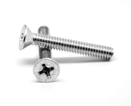 """FT Coarse Thread Machine Screw Phil Flat Hd Zinc Plated #6-32 x 2/"""""""
