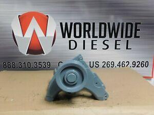 Detroit Series 60 12.7 Alternator Bracket w/ Pulley, Part # 23521128