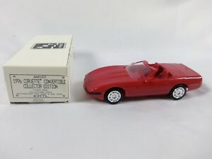 AMT-Ertl-1996-Chevrolet-Corvette-Convertible-Torch-Red-Dealer-Promotional-Car