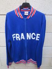 Veste EQUIPE DE FRANCE football rétro vintage COPA jacket Coupe du Monde 58 M