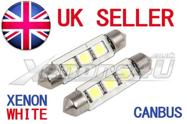 Fits Honda Civic MK7 264 42mm White Interior Courtesy Bulb LED Superlux Light