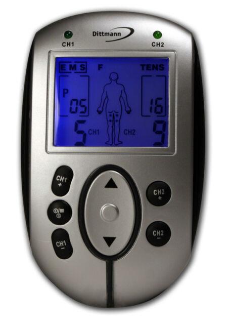 Dittmann EMS-Gerät ETG 255 Elektrostimulation Reizstrom Schmerzlinderung