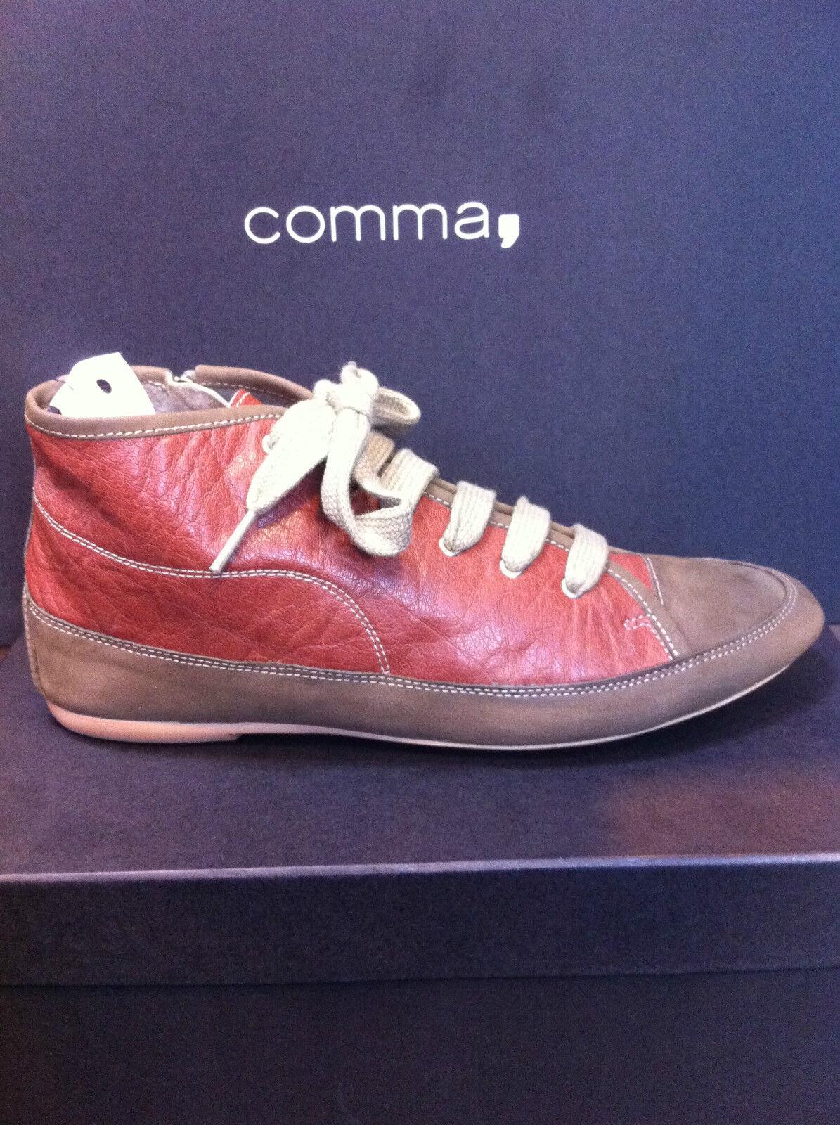 e0e83bb7 Comma, señora zapatos casual zapatos zapatillas zapatos cuero genuino marrón