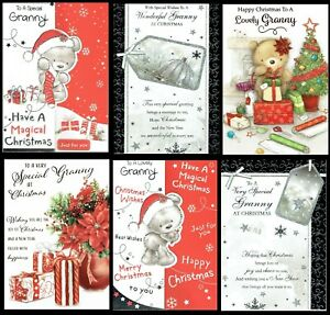 GRANNY CHRISTMAS CARD xmas ~ Great CHOICE of quality DESIGNS