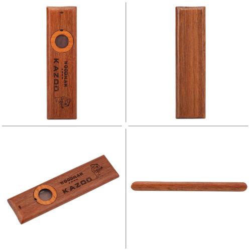 Holz KAZOO Kazzoo Mundharmonika Mund Flöte Kinder Musical Party Instrument ★