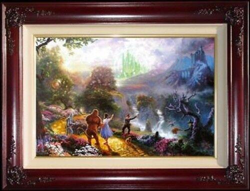 Thomas Kinkade Wizard of OZ Dorothy Discovers the Emerald City I/GP 18x27 Canvas
